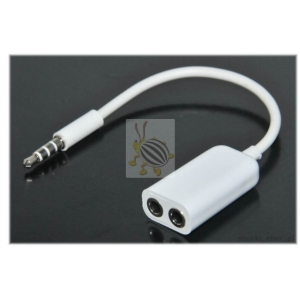 ADAPTER 4 PIN MINI JACK 3.5mm